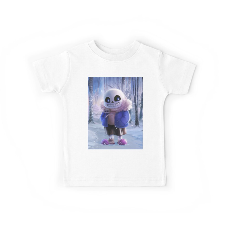 'Undertale Sans ' Kids Clothes by KrakenTShirts