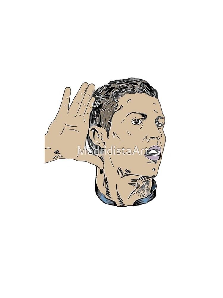 Campeone del Mundo - Cristiano Ronaldo 7  by MadridistaArt