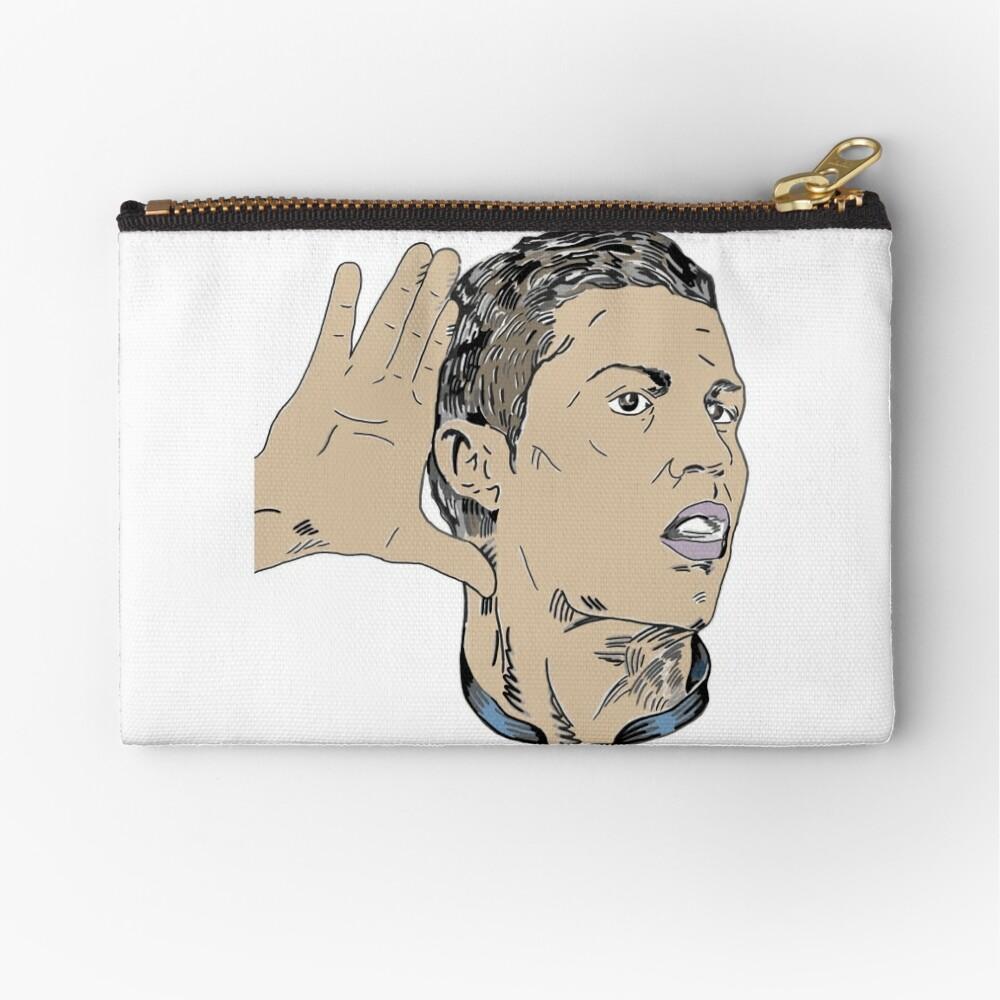 Campeone del Mundo - Cristiano Ronaldo 7  Zipper Pouch