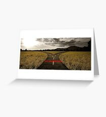 Say Crossroads Greeting Card