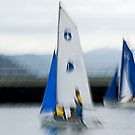 Sailing to the windward mark by LouD