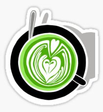 Matcha Barista Sticker