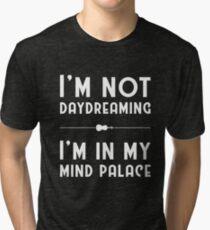 Sherlock, Mind Palace (B&W) Tri-blend T-Shirt