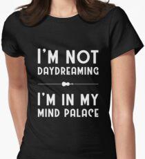 Sherlock, Mind Palace (B&W) Women's Fitted T-Shirt