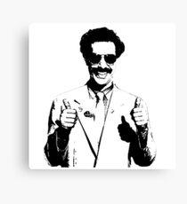 Borat Canvas Print