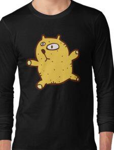 Sketchy cartoon teddy bear Long Sleeve T-Shirt