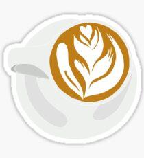 Barista Latte Sticker