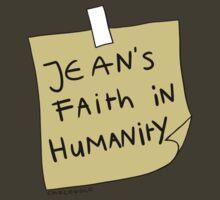 Jean's Faith in Humanity   Women's T-Shirt
