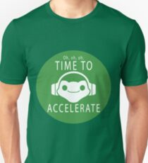 Time to Accelerate Unisex T-Shirt