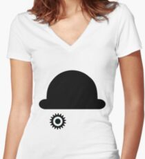 A Clockwork Orange Women's Fitted V-Neck T-Shirt
