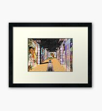 The Glass Maze Framed Print