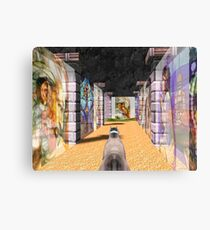 The Glass Maze Canvas Print