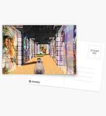 The Glass Maze Postcards
