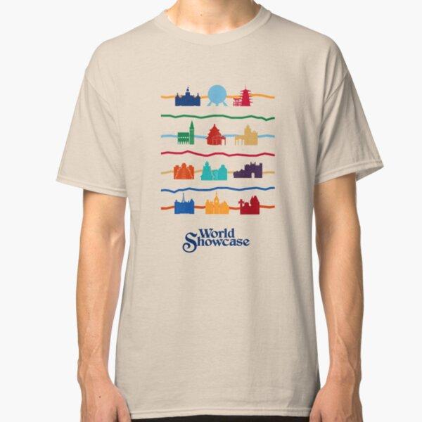 Pabellones World Showcase Camiseta clásica