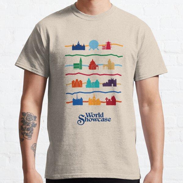 Pavillons de vitrine du monde T-shirt classique