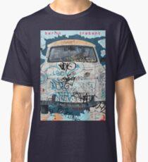 Berlin Trabant Car On The Berlin Wall Classic T-Shirt