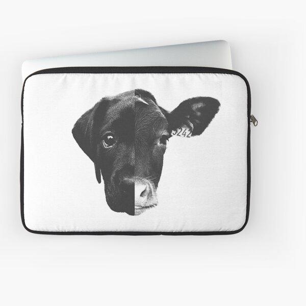 Animal Equality - (Black & White) Laptop Sleeve