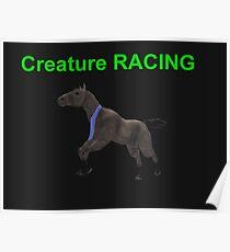 Creature Racing Poster