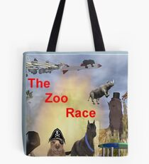 The Zoo Race Rides Tote Bag
