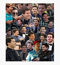 Jake Peralta Collage Photographic Print