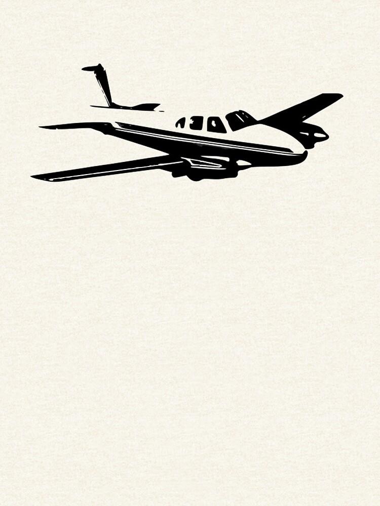 Beechcraft B50 Twin Bonanza by cranha