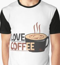 Love Coffee Graphic T-Shirt