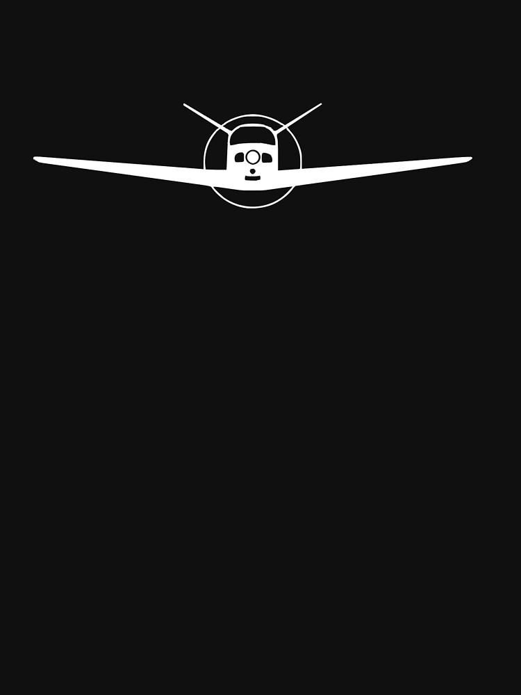 Beechcraft Bonanza 35 Head-On by cranha