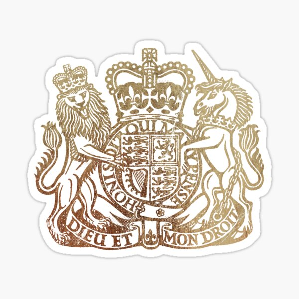Coat of Arms - Great Britain  Sticker