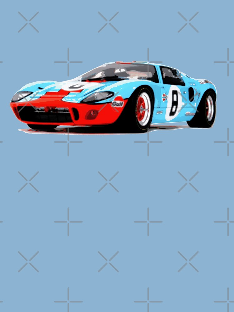 IV Race Car Toddler Short Sleeve Tee Ford GT40 Mark I