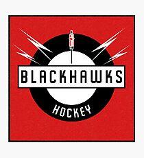Blackhawks Hockey Photographic Print