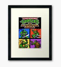 TMNT Hyperstone Heist (Genesis) Framed Print