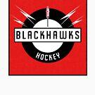Blackhawks Hockey by mightymiked