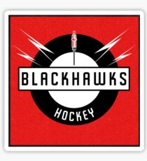 Blackhawks Hockey Sticker