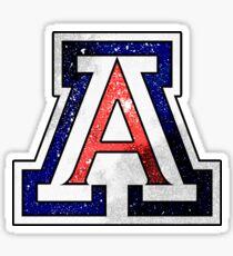 Galaxy University of Arizona Sticker