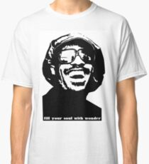stevie wonder- fill your soul with wonder Classic T-Shirt