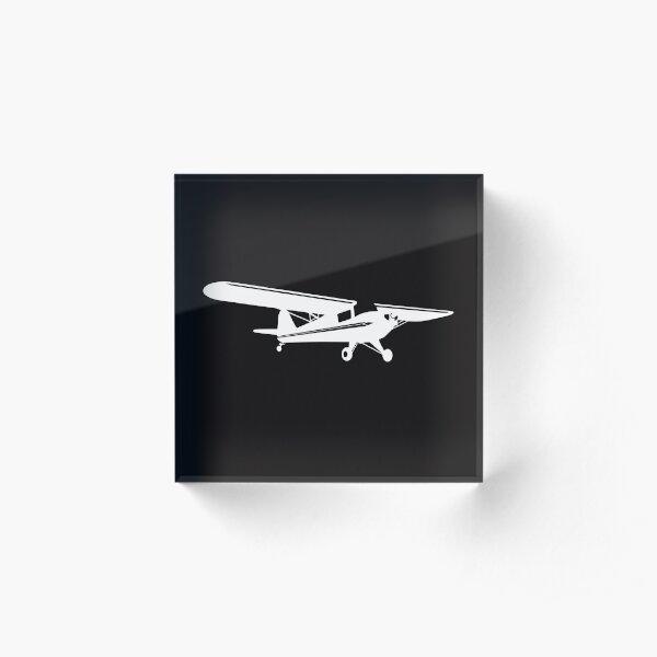 Taylorcraft Dark Acrylic Block