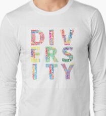 Colourful Unity in Diversity Long Sleeve T-Shirt