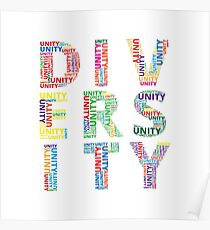 unity in diversity posters 2011-2012 unity in diversity poster designed by chris northern illinois university  will recognize the winners of the unity in diversity student.