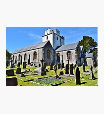 Holy Cross Church, Cowbridge, Vale of Glamorgan Photographic Print