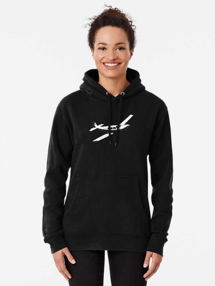 Alternate view of Mooney Aircraft Pullover Hoodie