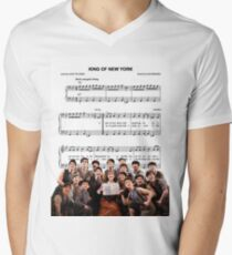 King of New York - Newsies Men's V-Neck T-Shirt