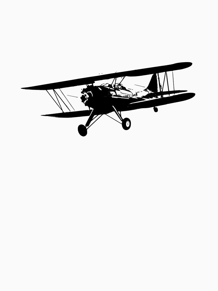 Waco UPF-7 Biplane by cranha