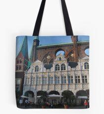 Lübeck - Marktplatz [2] Tote Bag