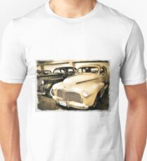 1942 Chevy In Grunge By CJ Anderson T-Shirt