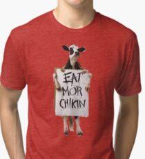 Eat Mor Chikin Tri-blend T-Shirt