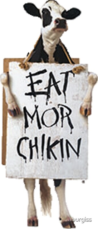 chick fil a eat mor chikin Thanks to duetsblog for providing an update on the eat mor chikin v  chick -fil-a is also the owner of the federally-registered trademark eat mor chikin,.
