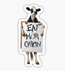 Eat Mor Chikin Sticker