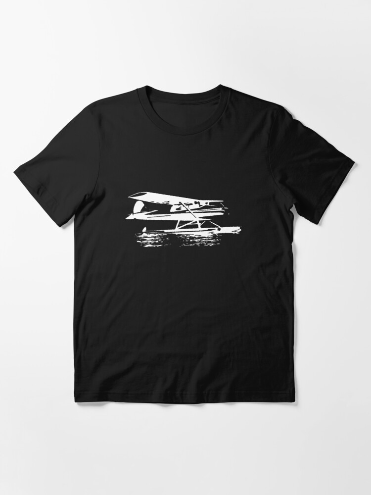 Alternate view of Cessna 170 Floatplane Essential T-Shirt