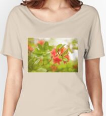 Rhododendron or Azalea Il Tasso flowers Women's Relaxed Fit T-Shirt