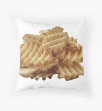 Waffle Fries Throw Pillow